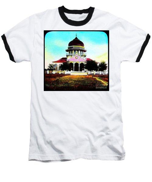 Malay Mosque Singapore Circa 1910 Baseball T-Shirt