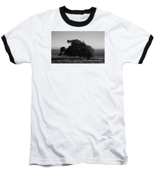 Baseball T-Shirt featuring the photograph Malformed Treeline by Clayton Bruster