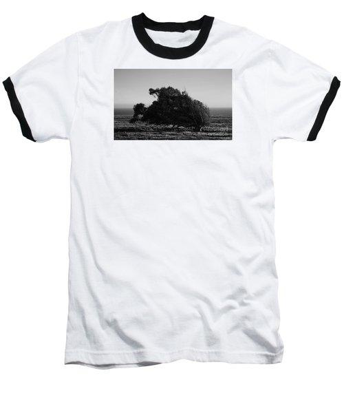 Malformed Treeline Baseball T-Shirt by Clayton Bruster