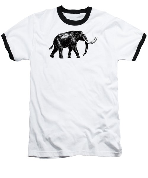 Mammoth Tee Baseball T-Shirt by Edward Fielding