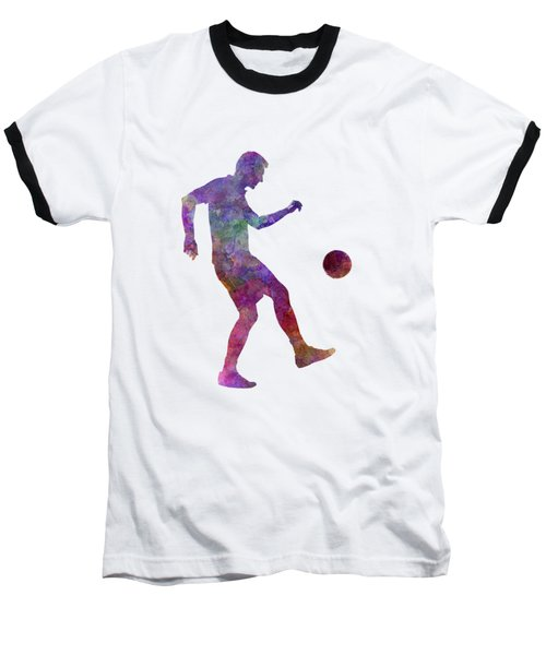 Man Soccer Football Player 04 Baseball T-Shirt by Pablo Romero