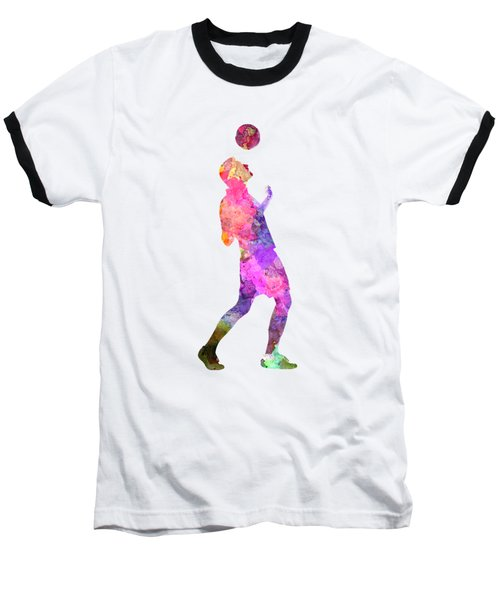 Man Soccer Football Player 06 Baseball T-Shirt by Pablo Romero