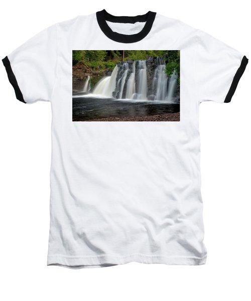 Manabezho Falls Baseball T-Shirt