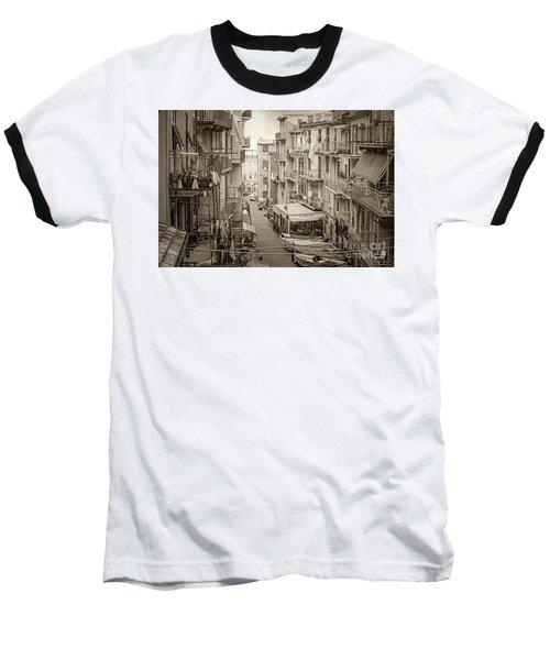 Manarola In Sepia Baseball T-Shirt