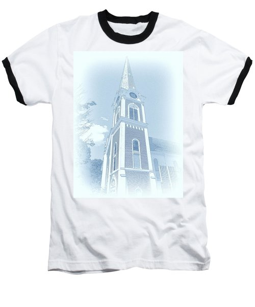 Manchester Vt Church Baseball T-Shirt
