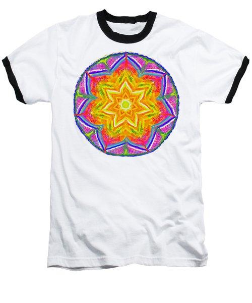 Mandala 12 20 2015 Baseball T-Shirt by Hidden Mountain
