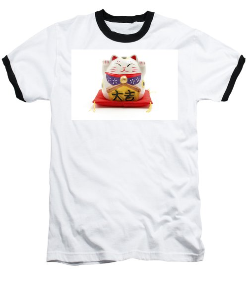 Maneki Neko Baseball T-Shirt