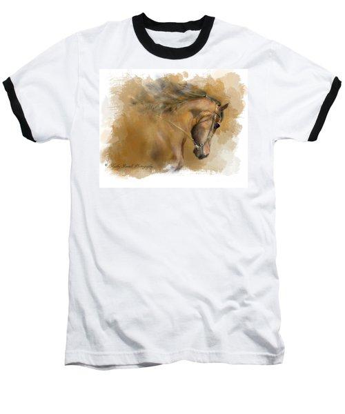 Mangalarga Marchador Baseball T-Shirt by Kathy Russell