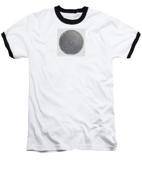 Manhole Cover Baseball T-Shirt