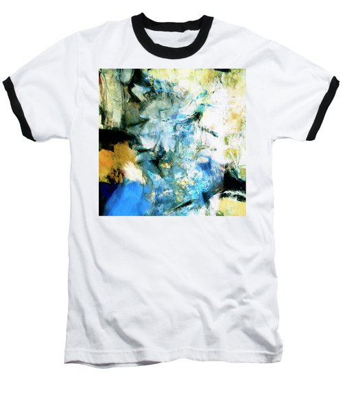 Baseball T-Shirt featuring the painting Manifestation by Dominic Piperata