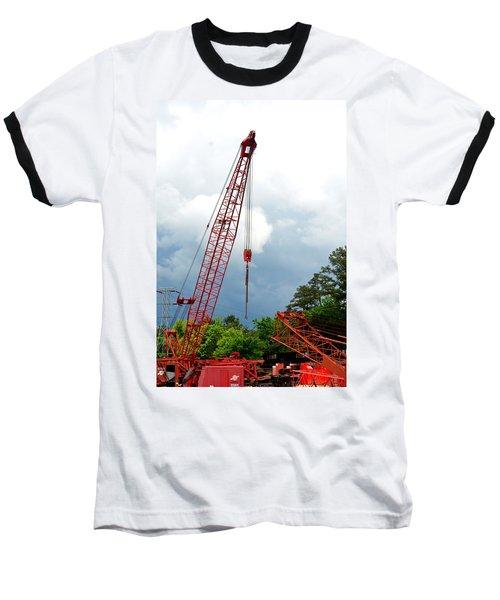 Manitowoc Crane 2015 Baseball T-Shirt