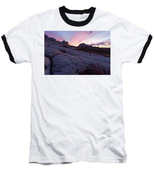 Baseball T-Shirt featuring the photograph Man's Best Friend Sunset by Jonathan Davison