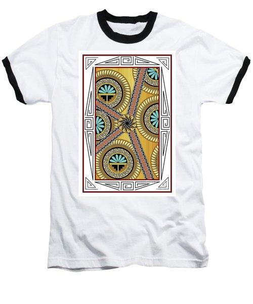 Many Circles Baseball T-Shirt