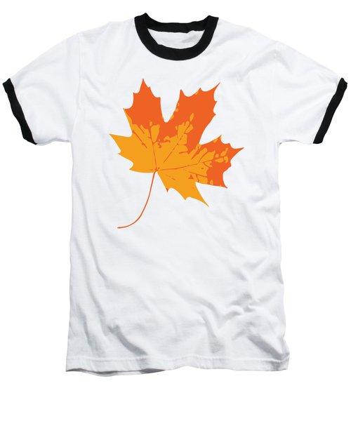 Baseball T-Shirt featuring the digital art Maple Leaf by Jennifer Hotai