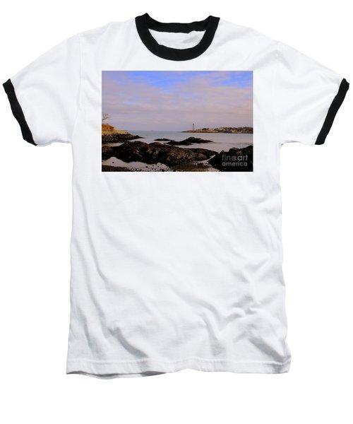 Marblehead Harbor And Light Baseball T-Shirt