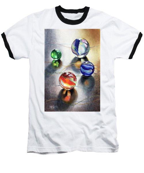 Marbles 3 Baseball T-Shirt