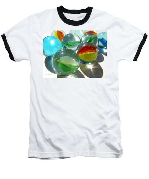 Marbles Baseball T-Shirt