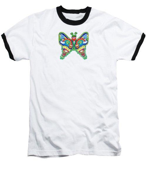 March Butterfly Baseball T-Shirt