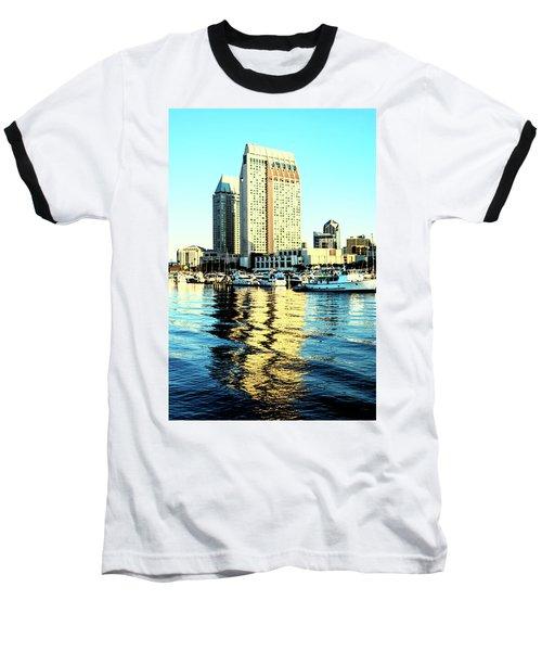 Marina Reflections Baseball T-Shirt