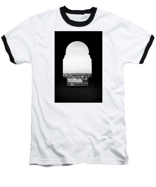 Marina Through The Window Baseball T-Shirt