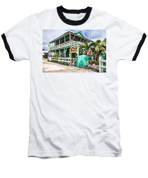 Marin's On Caye Caulker Baseball T-Shirt