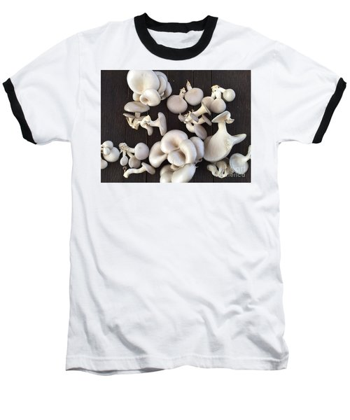 Market Mushrooms Baseball T-Shirt