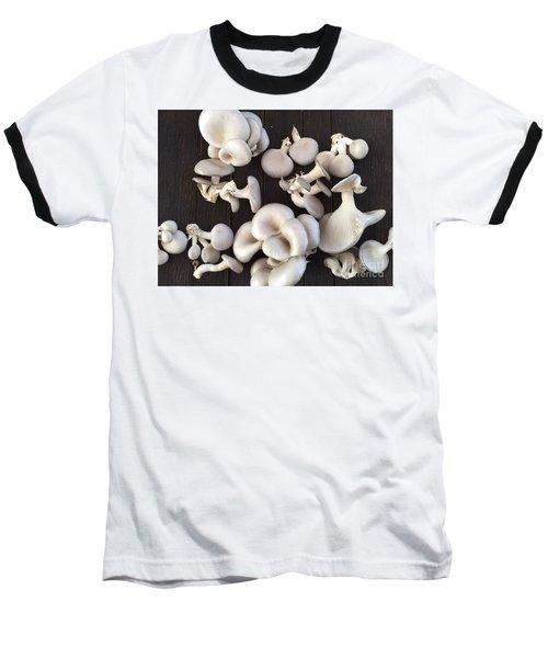 Market Mushrooms Baseball T-Shirt