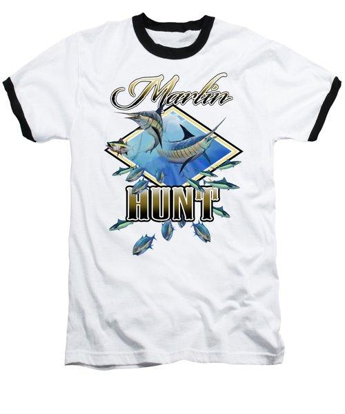 Marlin Hunt 2 Baseball T-Shirt