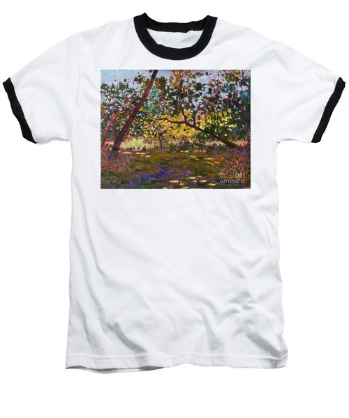 Marsh Land Baseball T-Shirt