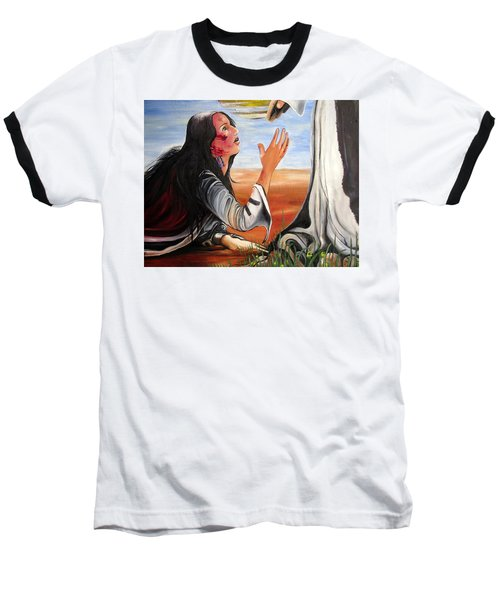 Mary Magdalene Baseball T-Shirt
