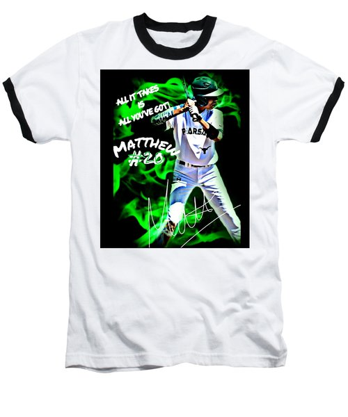 Matthew #20 Baseball T-Shirt