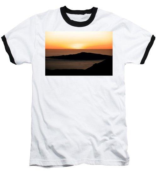 Mauna Kea Sunset Baseball T-Shirt
