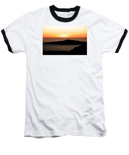 Mauna Kea Sunset Baseball T-Shirt