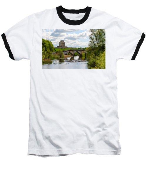 Mausoleum Baseball T-Shirt