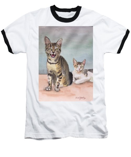 Maxi And Girlfriend Baseball T-Shirt