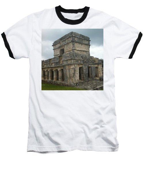 Mayan Stone Homes  Baseball T-Shirt