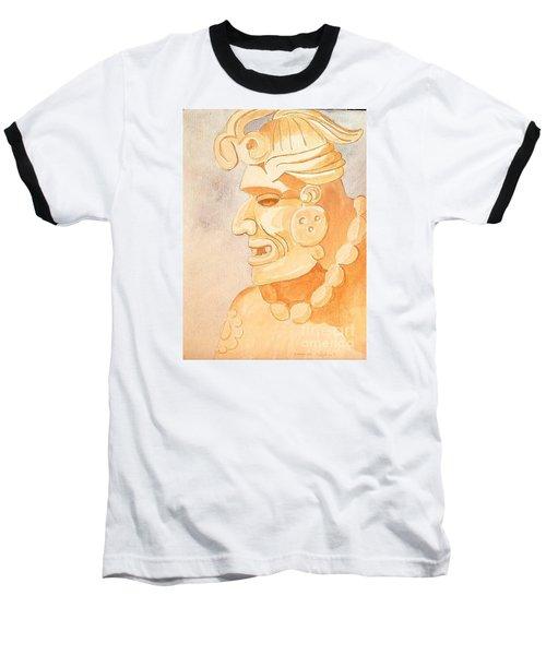 Mayan Warrior Baseball T-Shirt