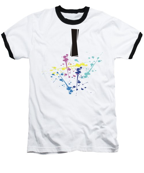 Me Myself And I Baseball T-Shirt by Jacquie King
