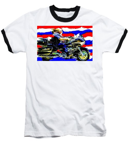 Mead In America Baseball T-Shirt