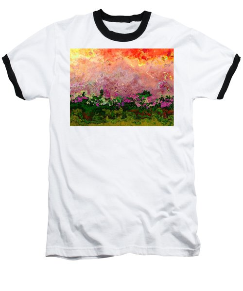 Meadow Morning Baseball T-Shirt by Wendy J St Christopher