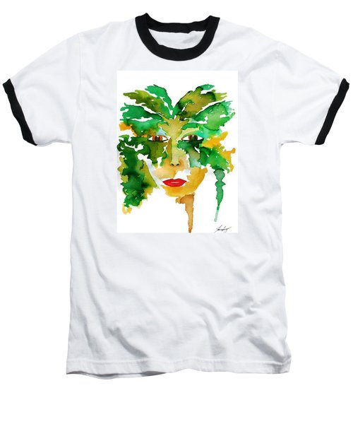 Medeina Goddess Of The Woodland Forest Baseball T-Shirt
