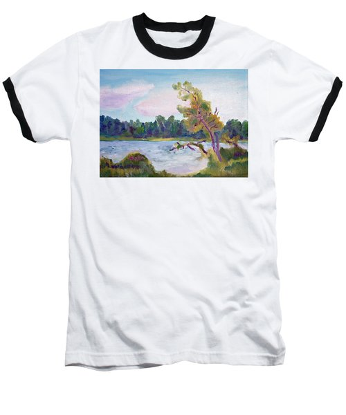 Meditation Lake  Baseball T-Shirt
