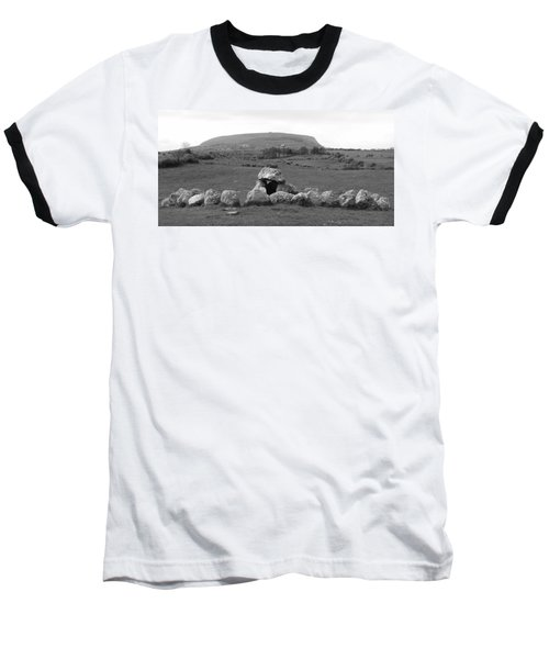 Megalithic Monuments Aligned Baseball T-Shirt