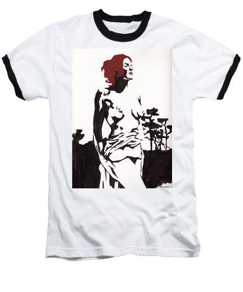 Megan - Sunlight Baseball T-Shirt