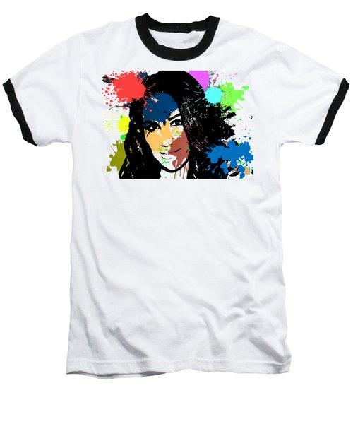 Meghan Markle Pop Art Baseball T-Shirt