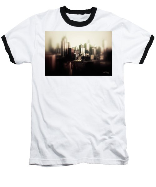 Melbourne Towers Baseball T-Shirt by Joseph Westrupp
