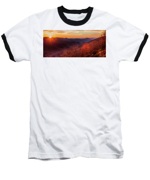 Baseball T-Shirt featuring the photograph Melody Of Autumn by Karen Wiles