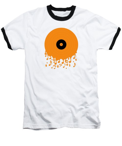 Melting Music Baseball T-Shirt