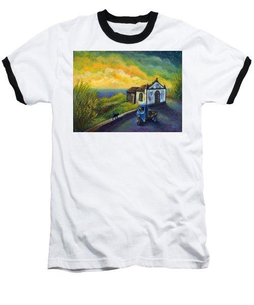 Memories Neath A Yellow Sky Baseball T-Shirt
