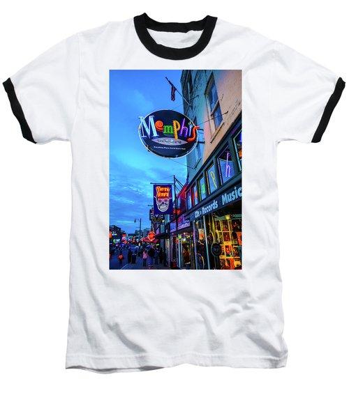 Memphis Soul Baseball T-Shirt
